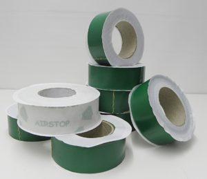 grön tejp till tätskikt
