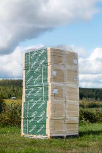 Träfiberisolering, isoleringsskivor