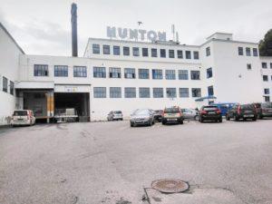 Hunton asfaboard fabrik