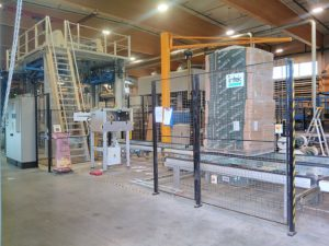 Träfiberisoleringsfabriken