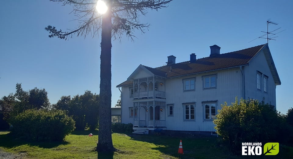 träfiberisolering i hus