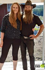 Jenny och Erik Rinander på Norrlandseko